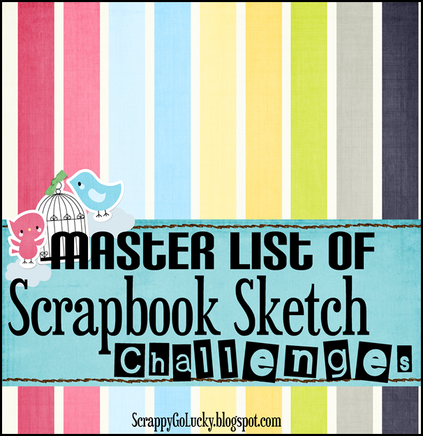 scrapbook sketches master list