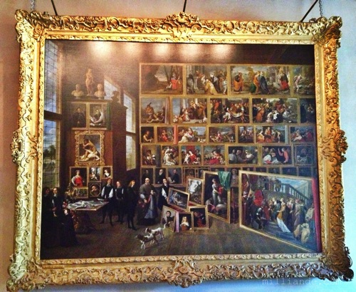 Victorian Atelier Painting ,  Art Inspiration at Petworth House , West Sussex , Victorian Era Aestetics