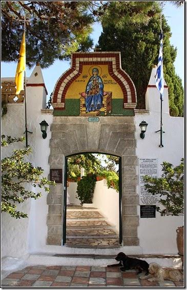 Paleokastritsa Monastry