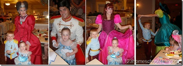 1900 Park Fare Cinderella Character Dining