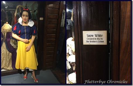 snow white at wax museum