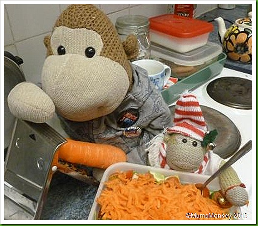 Grated Carrot