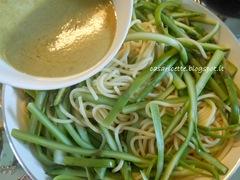 cdr spaghetti e asparagi, salsa di limone e capperi
