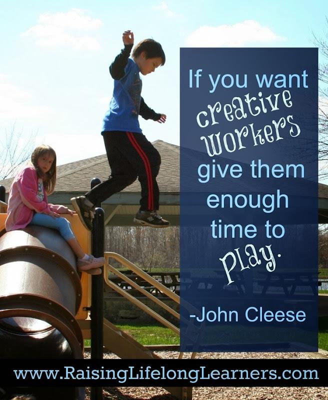 Raising Lifelong Learners a Ten Day Series via www.RaisingLifelongLearners.com Day Five