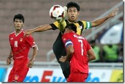 harimau muda vs Myanmar Pestabola Merdeka