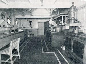 BT CAMPEADOR. Cocina. Del libro CAMPSA. 1928-1932