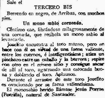 1916-09-24 (p. 25 La Correspondencia) Reseña 3º