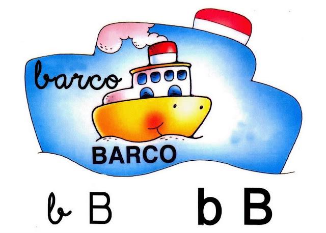 Fichas preescolar para aprender la letras del abecedario for Cosas del bano con b