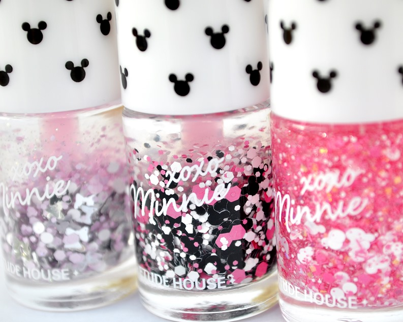 minnie mouse nail polish etude house review