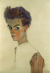 Acuarela de Egon Schiele Aquarell Watercolor