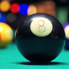 Eight for 8 logo day 8 eight ball