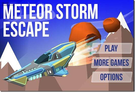 meteor storm escape