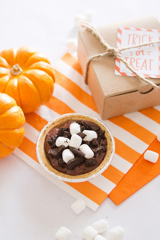 Smore's Pudding Pie, Snack pack pudding cups