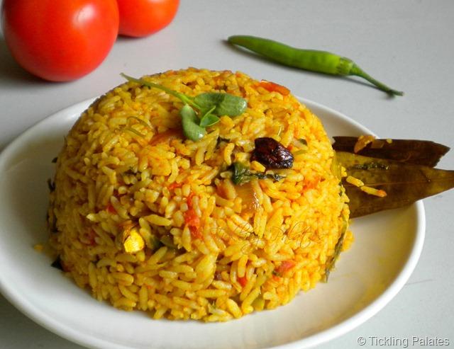 Tomato Methi Rice ( Iron Rich Recipe ) by Tarla Dalal ...