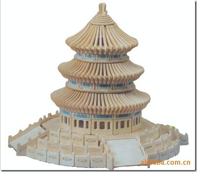 3D Puzzle Temple of Heaven 天壇 03