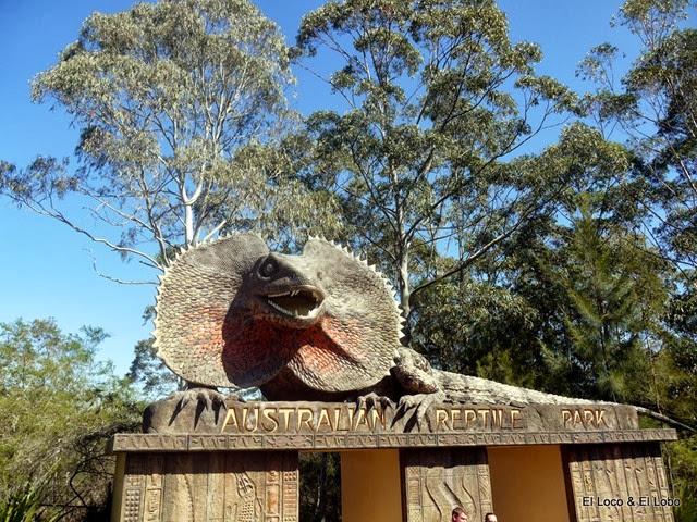 Australian Reptile Park - entrance