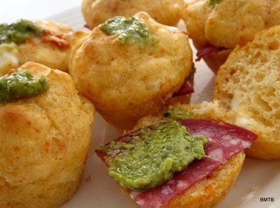 Mini feta muffins1