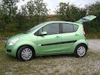 Den nye flotte grønne Suzuki Splash 1.2