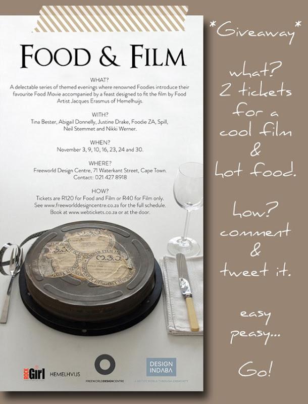 Foodandfilm givaway