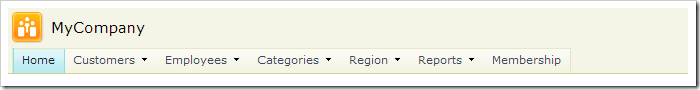 'Customer Demographics' page not present in the navigation menu.