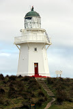 Lighthouse at Waipapa Point - Catlins, New Zealand