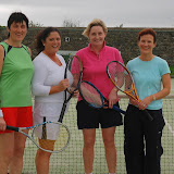 Ladies A Doubles Final