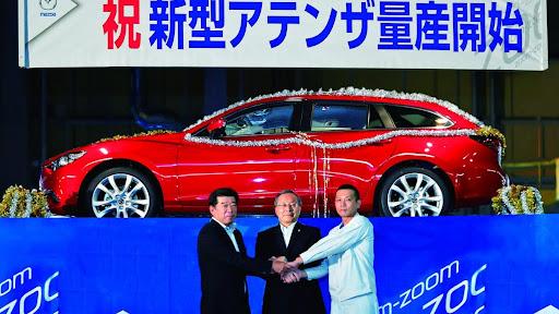Mazda baştan aşağıya yenilediği mazda6 modelini japonya
