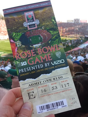 Rose Bowl ticket