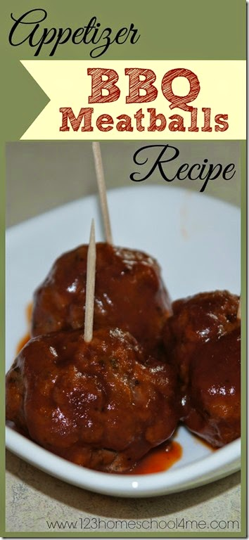 Appetizer BBQ Meatball Recipes - These are simple to make, cook like dumplings in the barbecue sauce, and taste amazing! YUMMY!