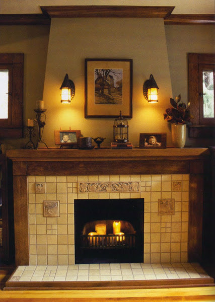Fireplace1 Fireplace Mantel Decorating Ideas