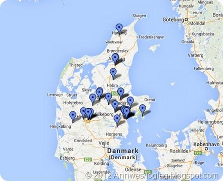 Tips: Køyr innom Jydsk Stoflager i Ikast og naboen Kølkær i Herning på veg til Legoland!