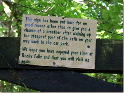 beckyfalls sign
