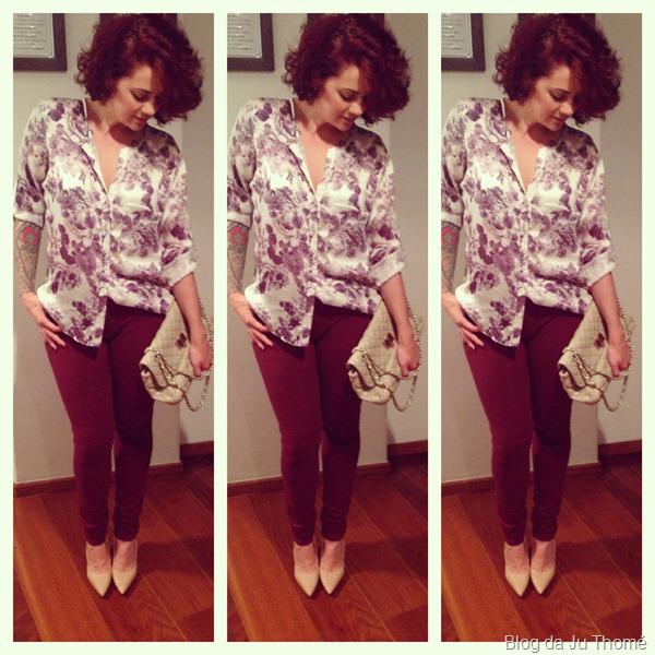 look calça burgundy e camisa floral (3)