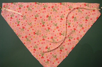 doll bandana step 5