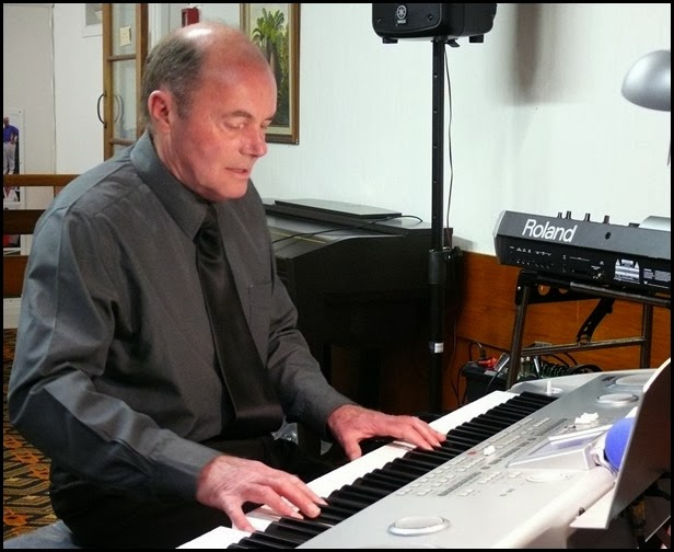 Our special guest artist, Peter Parkinson made good use of the arranger aspect ot the Korg Pa588 with some fantastic grooves and amazing modern sounds. Peter is the manager of Music Planet Botany Downs branch. Photo courtesy of Dennis Lyons.