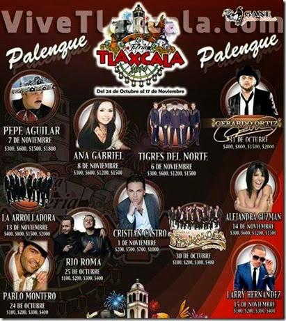 Palenque Feria de Tlaxcala 2014