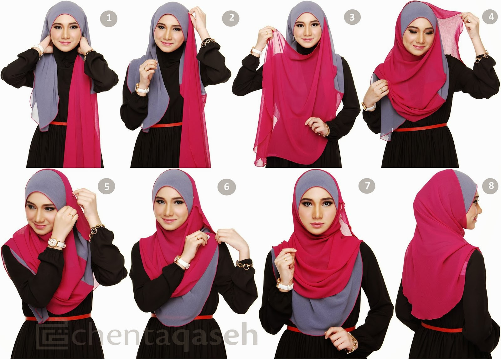 Everything About My Life Is Adventure Tutorial Hijab Pashmina