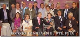 FOTO DE FAMILIA EN EL RTE. FELU