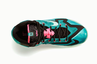 nike lebron 11 gr south beach 4 05 NIKE LEBRON 11 South Beach Remixes Past With Present