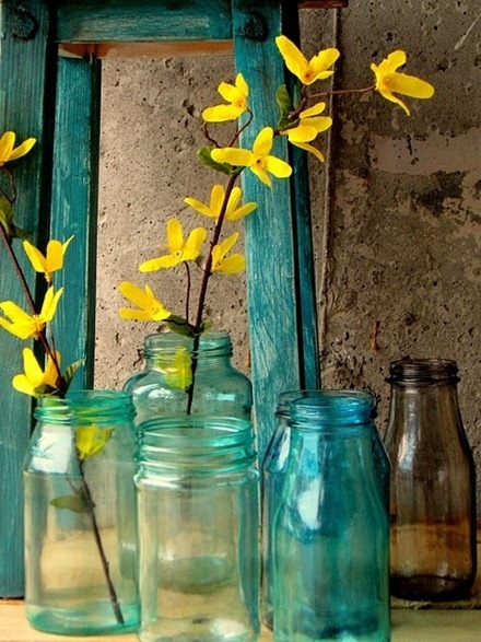 Glasflaskor, Pinterest