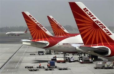 India to Bail Out National Airline Carrier