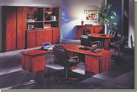 Escritorios de madera para oficinas10