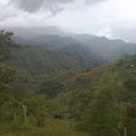 The view in Furcy, Haiti