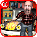 Crazy Cartoon Parking King 3D icon