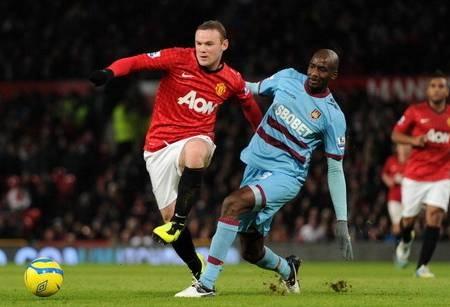 Hasil Manchester United vs West Ham