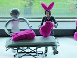 Scully and the Schwa alien perform a Peep autopsy