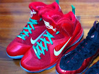 nike lebron 9 gr christmas 1 02 Throwback Thursday: Look Back at LBJs 2011 Christmas Shoes