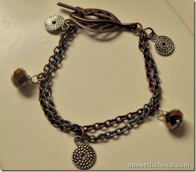 Leaf Clasp Bracelet