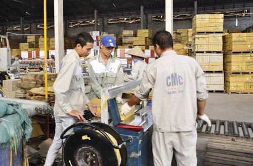 Nhà máy sản xuất gạch CMC