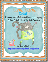 Splish Splash Splat - English - Cover